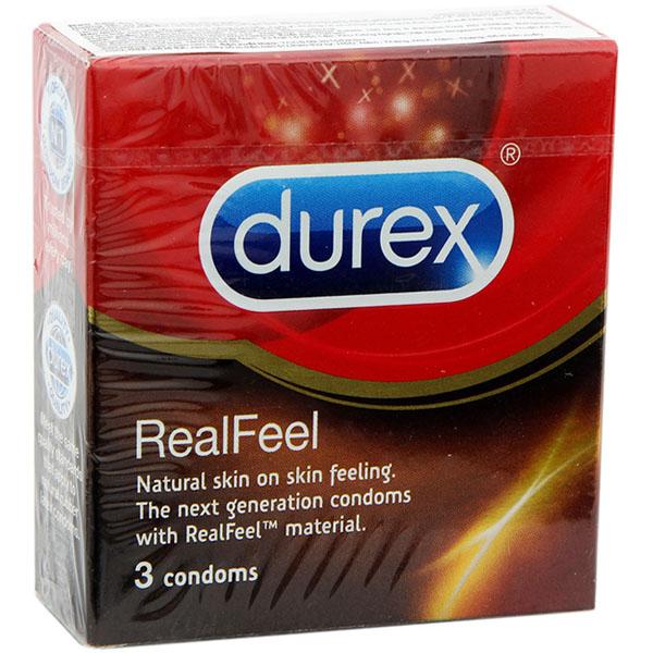 Bao cao su Durex Real Feel 01
