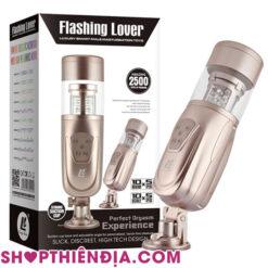 Âm đạo giả tự động bú mút Flashing Lover 08