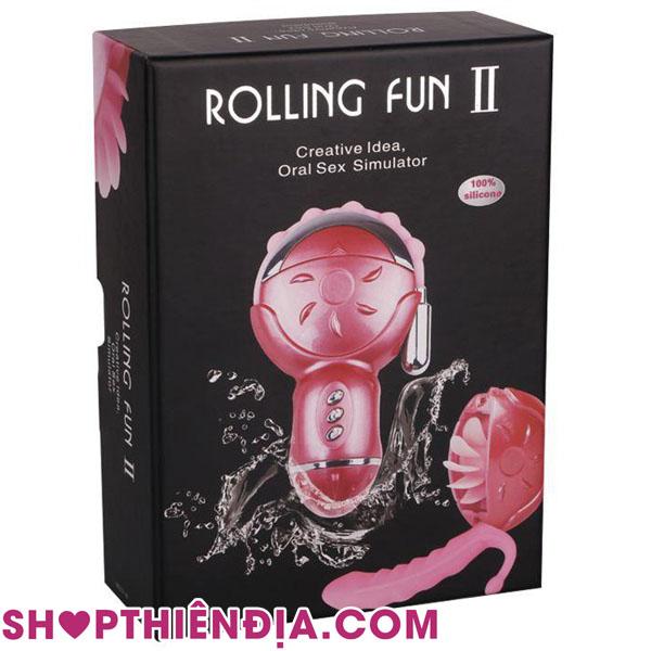 Máy liếm lồn Rolling Fun 07