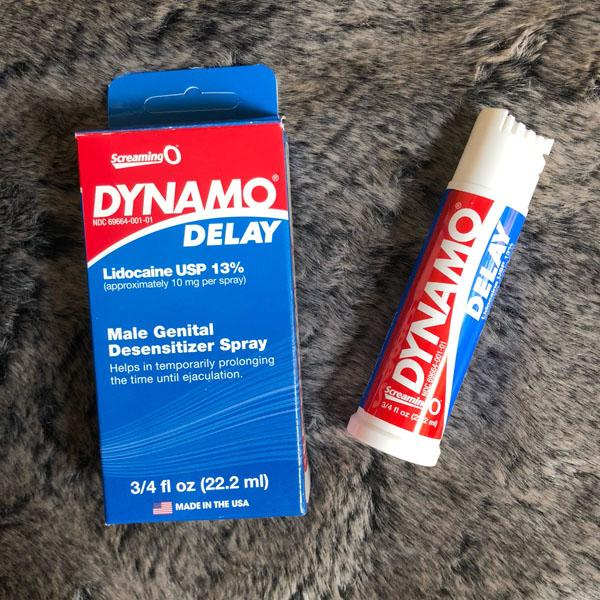 Thuốc tăng thời gian quan hệ Dynamo Delay 01