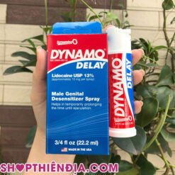 Thuốc tăng thời gian quan hệ Dynamo Delay 02