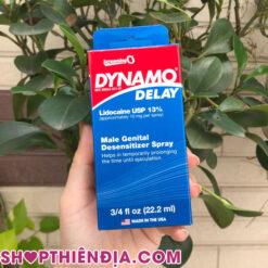 Thuốc tăng thời gian quan hệ Dynamo Delay 03