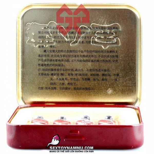 Thuốc uống quan hệ lâu ra Tibet Babao 02