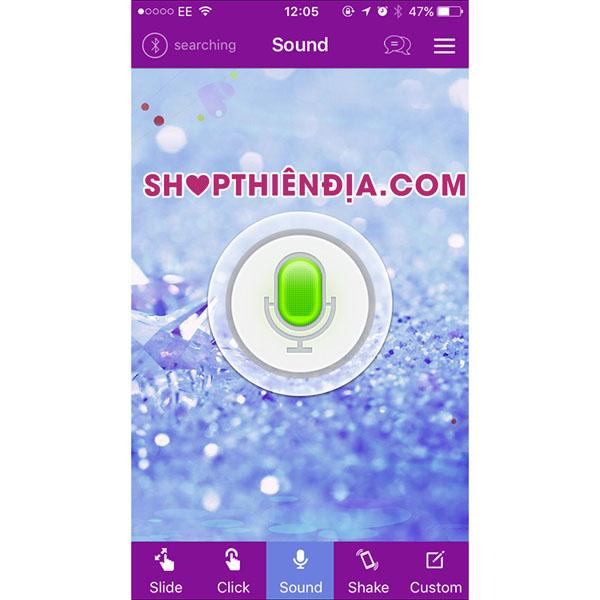 Trứng rung điều khiển bằng điện thoại Irena 11