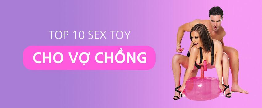 Các loại sex toy cho vợ chồng được mua nhiều nhất