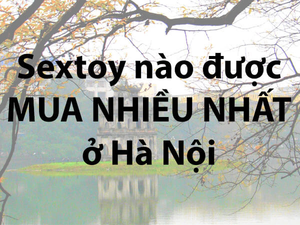 Sextoy được mua nhiều nhất ở Hà Nội
